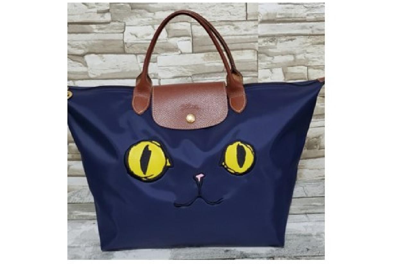 Authentic Longchamp Le Pliage MIAOU Cat Bag | July